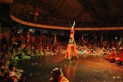 Apresentação dos Aqualoucos Gigantes no Baile de 2016
