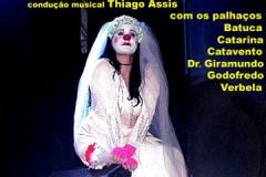Filipeta da apresentação do espetáculo no SESC de Ramos - 2008