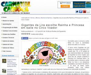 Carnaval Carioca - 21/01