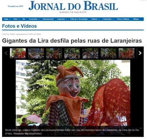 Jornal do Brasil 31-01