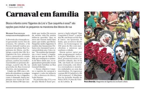 O Globo - 05/02