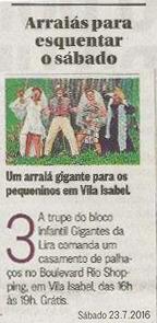 O Globo - 23/07