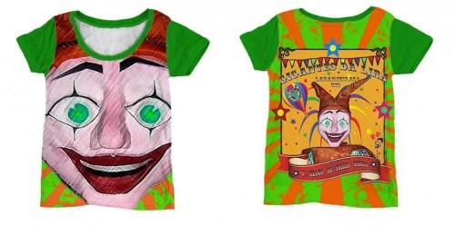 A camisa de 2014, desenhada pela designer Lívia Martins, homenageou a figura do bobo da corte