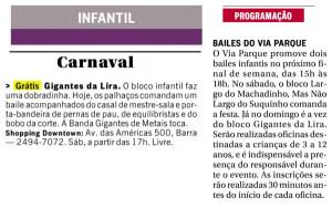 O Globo - 22/02 e 23/02